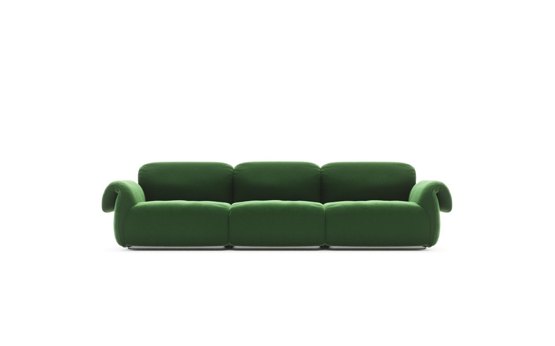 ciak sofa natuzzi gus modern clinton sectional michele menescardi designer industrial design studio
