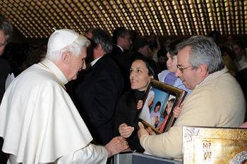 Peppe Romeo e Benedetto XVI