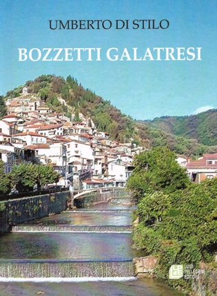 """Copertina del libro """"Bozzetti galatresi"""""""