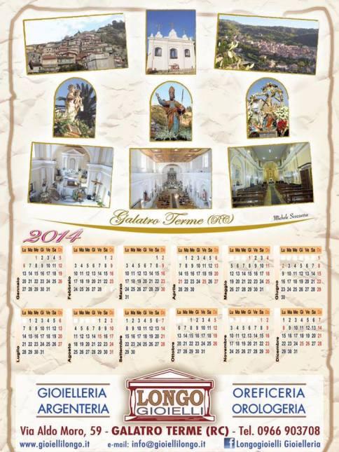 Calendario Longo Gioielli 2014 - Galatro