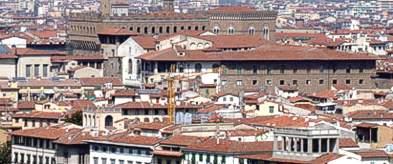Tetti della città di Firenze