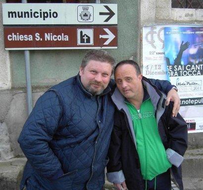 Pino Sorrentino e Luigi Scozzarra