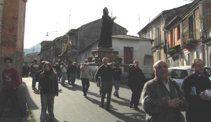 Processione a Galatro di San Francesco di Paola