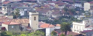 Tetti della città di Galatro