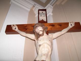 Crocifisso nella chiesa del Carmine a Galatro
