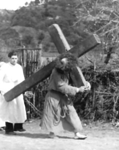 Mastro Peppino Cordiani sotto la croce