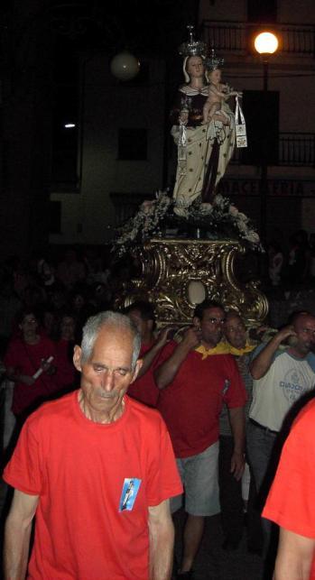 La Madonna del Carmine e Ciccio Lauro : uno dei procuratoro storici della festa