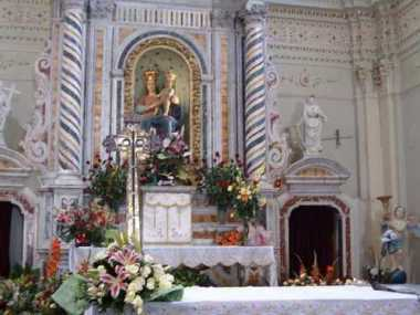 Santa Maria di Polsi, Altare -Polsi.