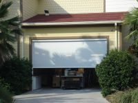 Electric Roll Up Garage Screens | Michele's Hide-Away Screens