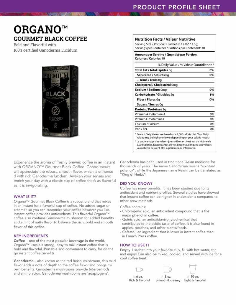 Black Coffee Organo