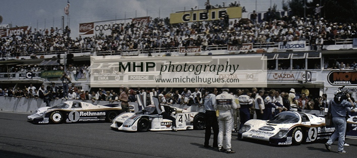 The 24 Hours of Le Mans between 1975 and 1985: the years of the last titanic duels - Copyright Photo MH - www.michelhugues.com