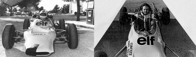 à l'occasion de ses 20 ans, grâce à MM. Antoine Raffaeli et à Simond De Lautour, il suit une première phase de l'école de pilotage windfield la même année remportée par un certain Alain Prost
