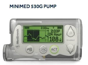 Medtronic Minimed 530G Continuous Glucose Monitor