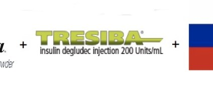 Afrezza+Tresiba+Russia