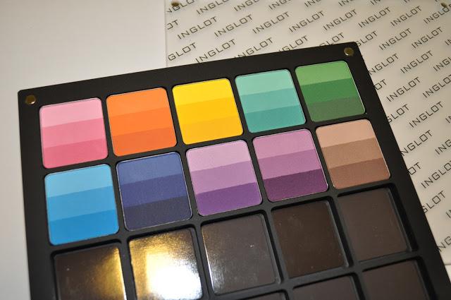 Black Friday Haul: Inglot Rainbow Shadows @Inglot_usa
