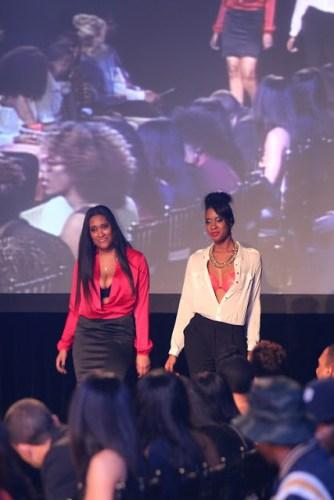 Whew! University of Michigan EnspiRED Fashion Show