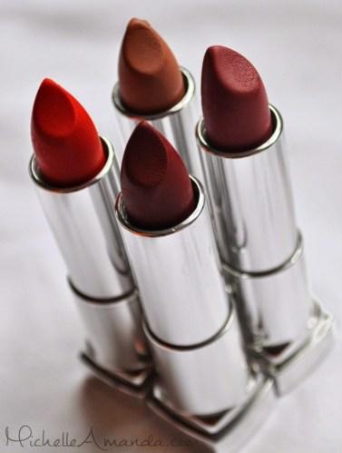 New Classics: Maybelline Color Sensational Matte Lipsticks