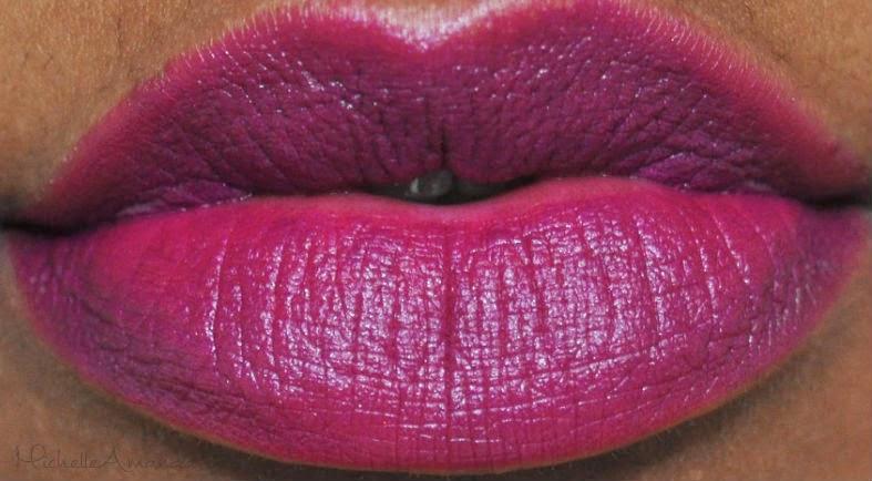 Swatched: NYX Matte Eden & Aria Matte Lipsticks – Michelle ...