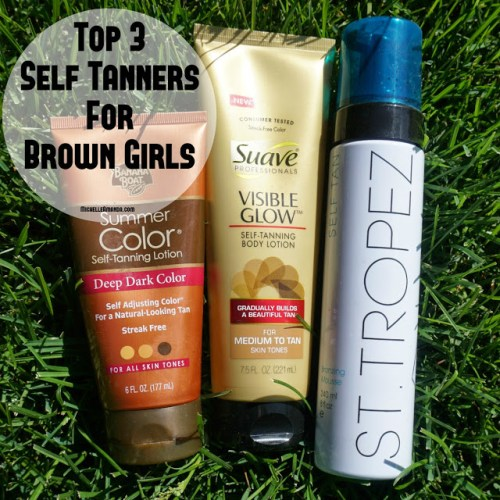 Summer Glow Up: Top 3 Self Tanners for Brown Girls #BrownGirlFriendly