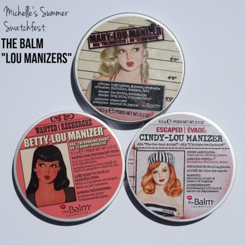 "Summer Swatchfest: The Balm ""Lou Manizers"" [Swatched on Brown Skin]"