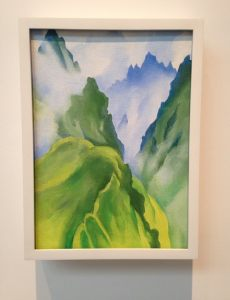 Georgia O'Keeffe Museum - Machu Picchu I - Oil on Canvas - 1957