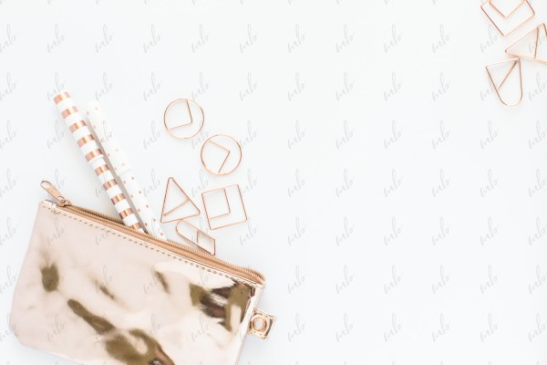 Styled Stock Photography - Rose Gold Desktop #07