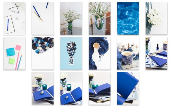Bold Blues Collection Stock Photo Bundle - Michelle Buchanan Photography and Design