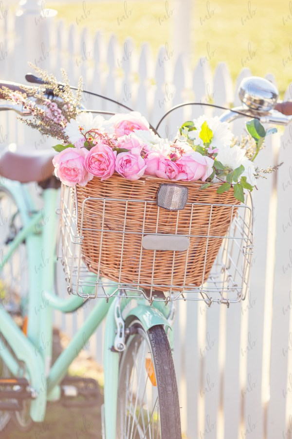 Styled Stock Photos with a spring floral theme