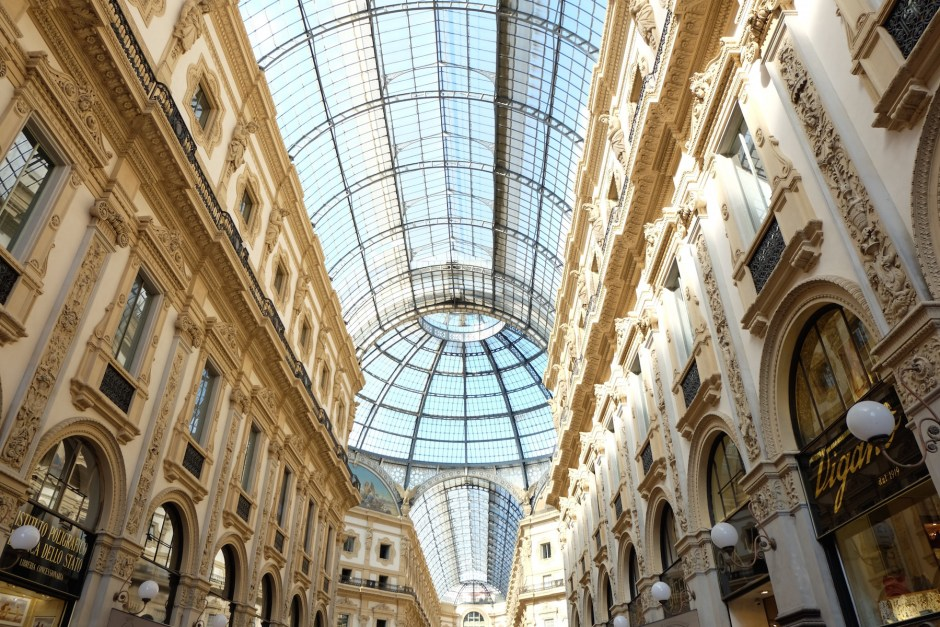 Galleria Vittorio Emanuele Milan