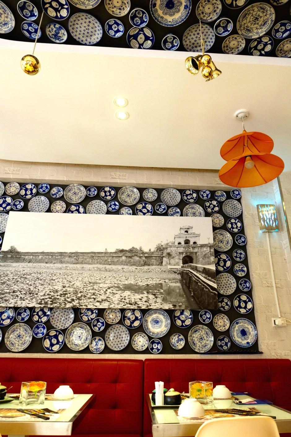 Mon Hue Restaurant Interior