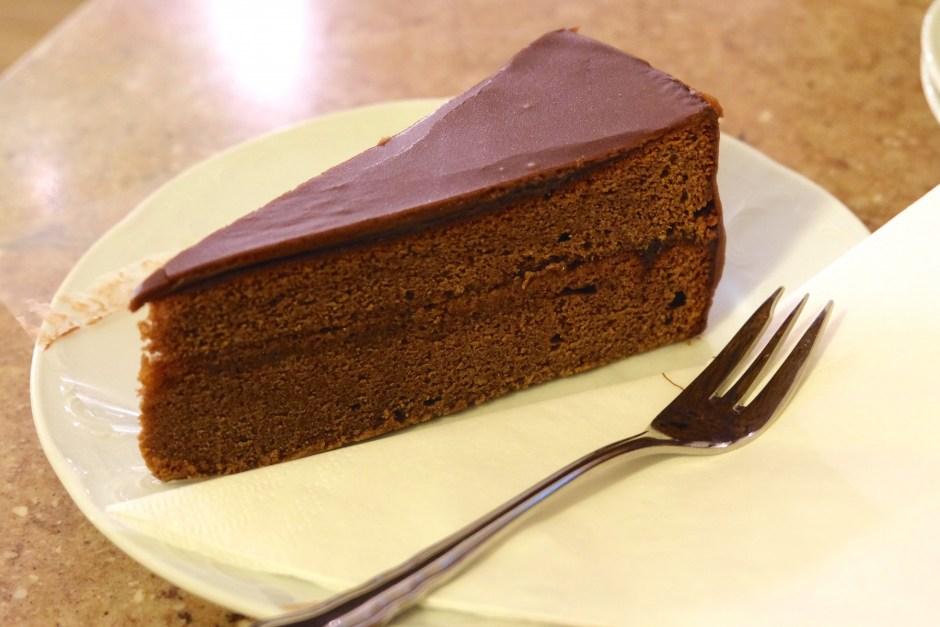 Sacher cake Cafe Mozart