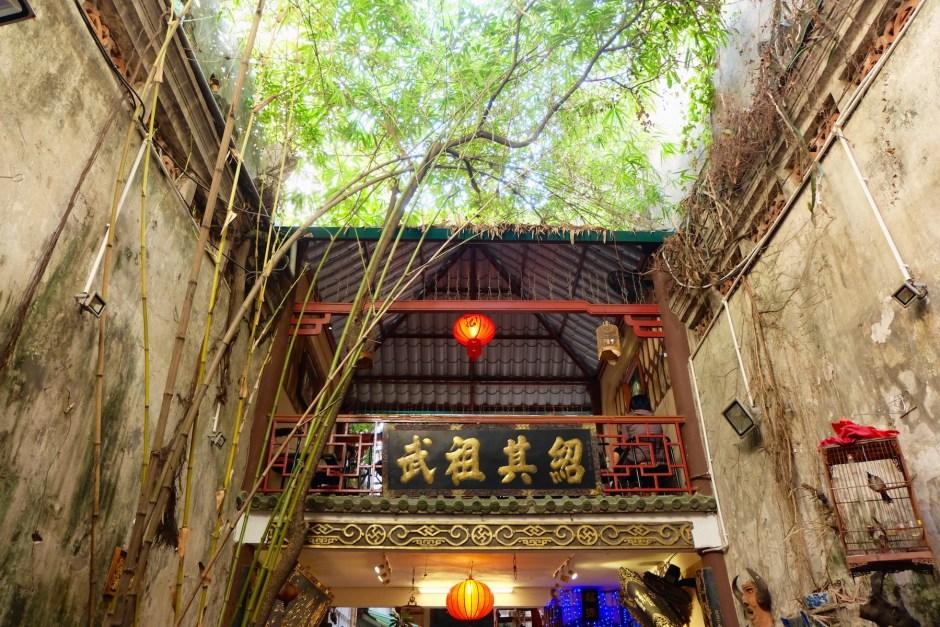 hidden coffee shop in hanoi
