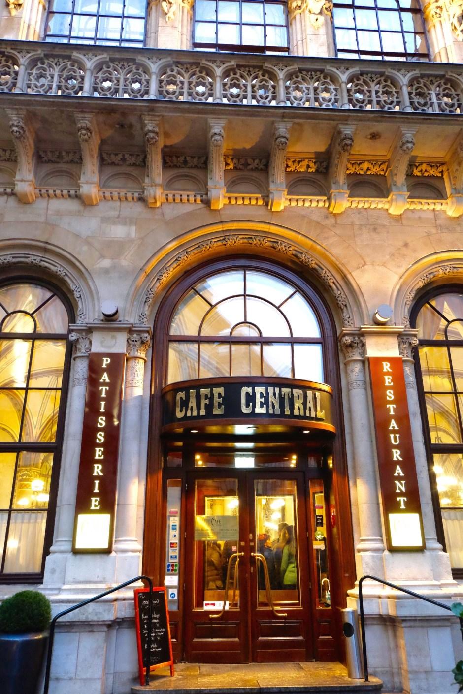 Cafe Central Vienna Austria