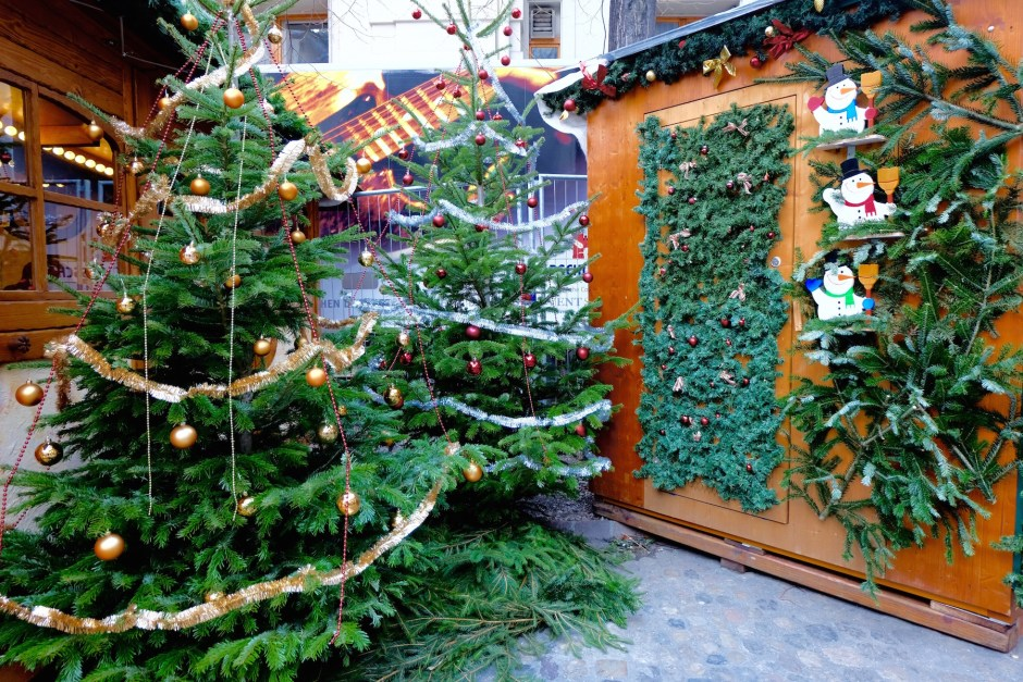 Christmas Trees in Basel