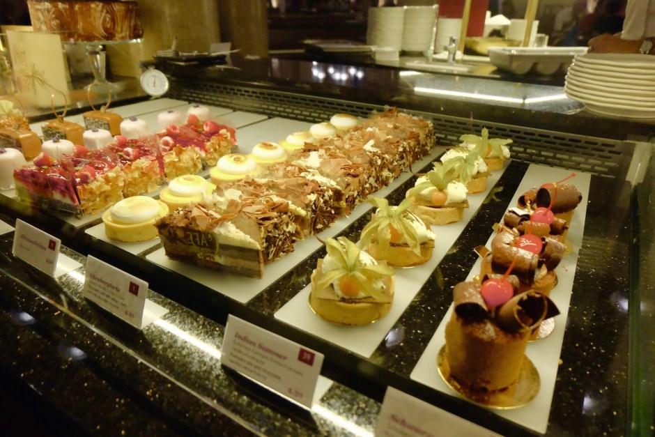 Desserts at Cafe Central