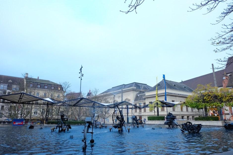 Fountain in Basel