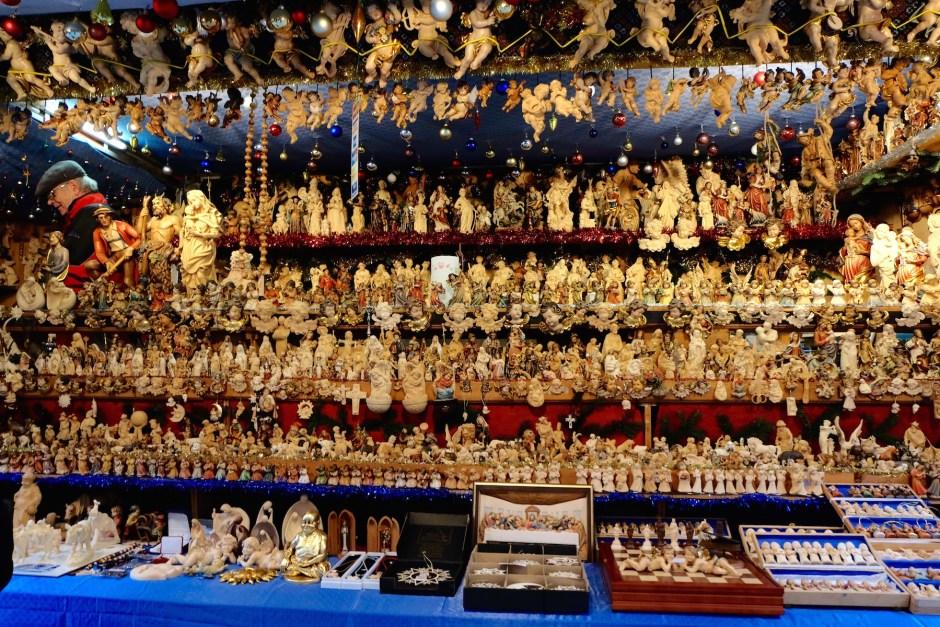Gift shop in Basel christmas market