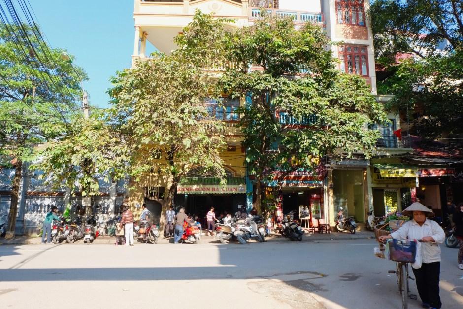 Hanoi Street daylight