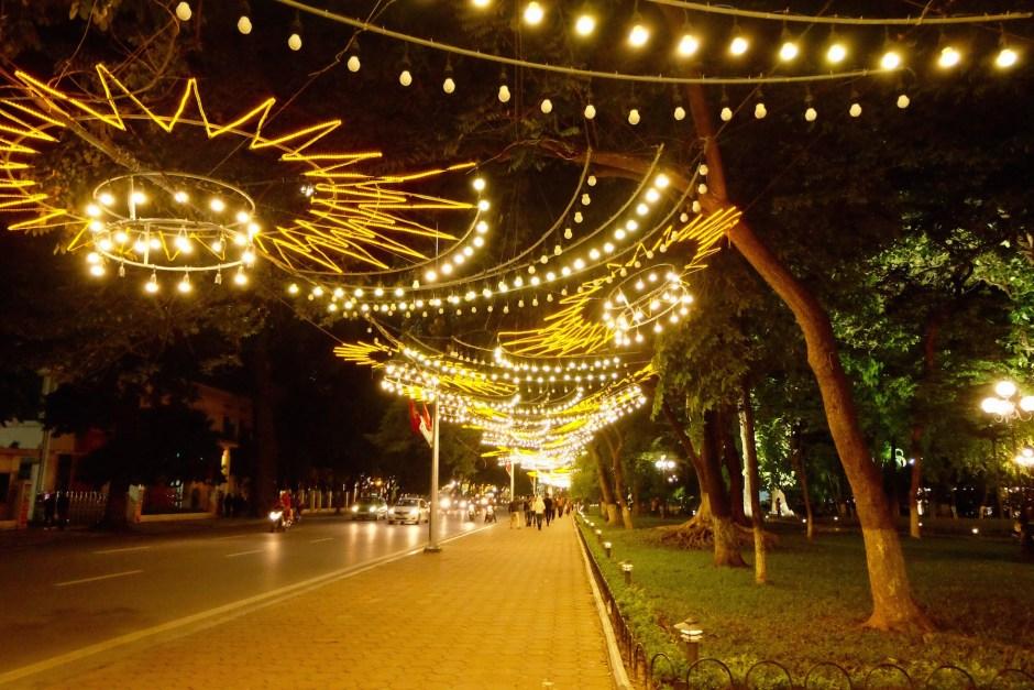 Midnight stroll in Hanoi