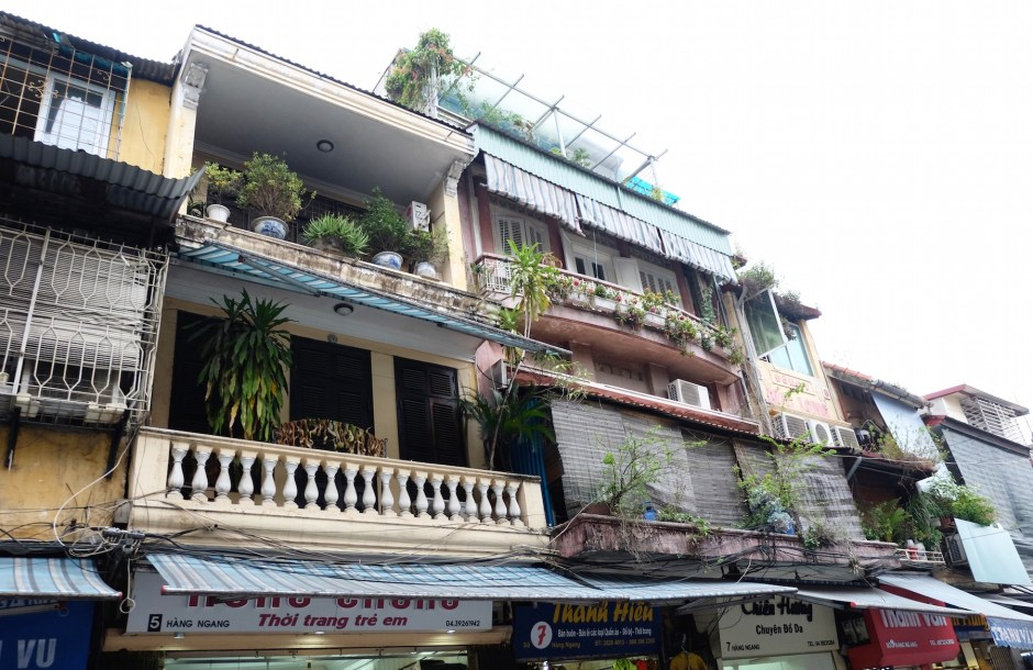 Old Building in Hanoi