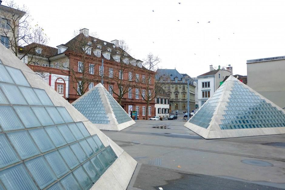 Pyramid in Basel