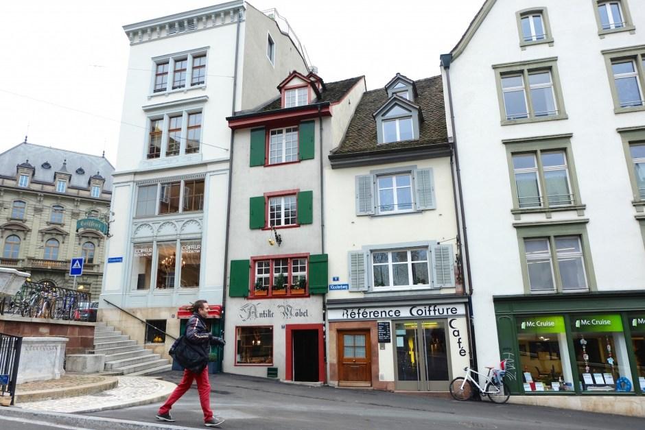 Street in Basel
