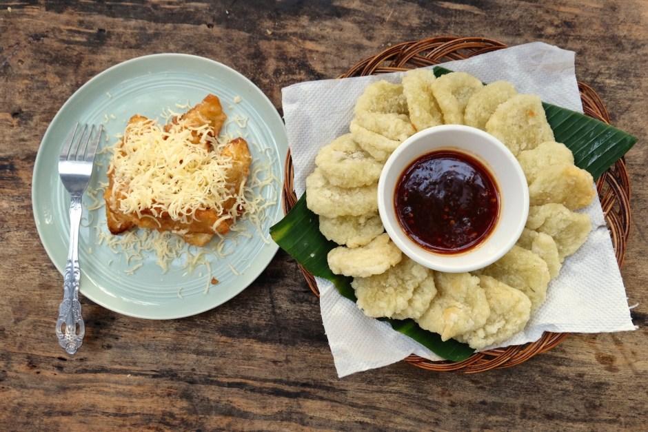 Banana Friters & Cireng