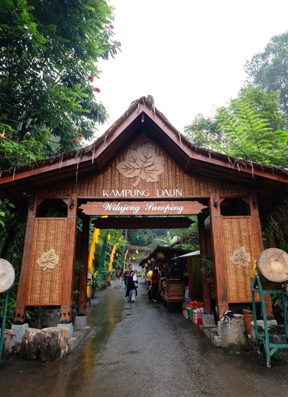 Kampung Daun Entrance