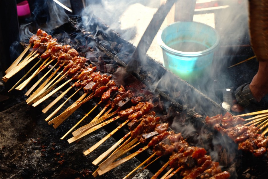 Sate Babi eat like locals in bali