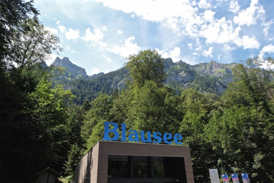 Blausee Entrance