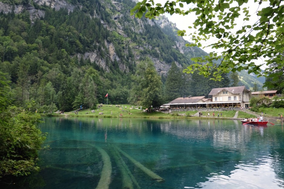 Lake Blausee View