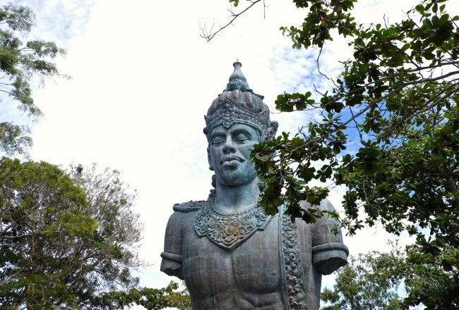 God Vishnu from Afar