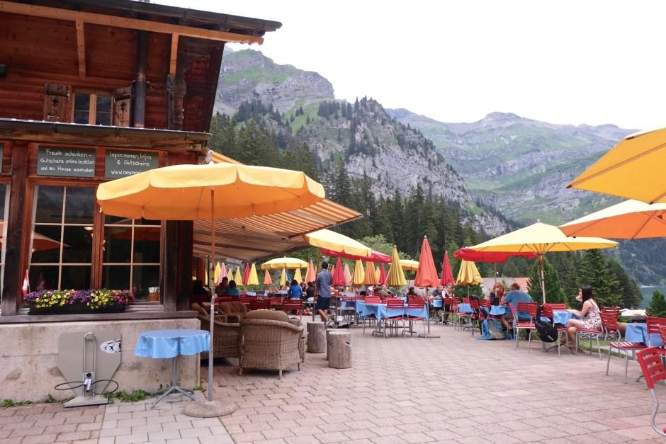 Restaurant in Lake Oeschinen