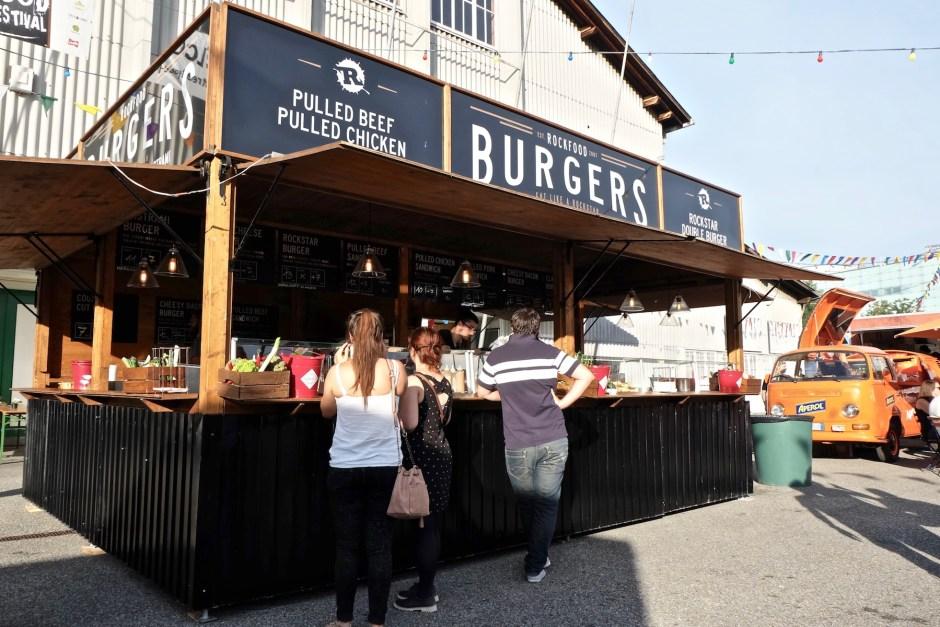 Rockfood Burger Stand